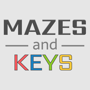 Mazes and Keys Game.