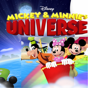 Mickey and Minnie Universe Game.