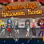 Monster High Halloween House.