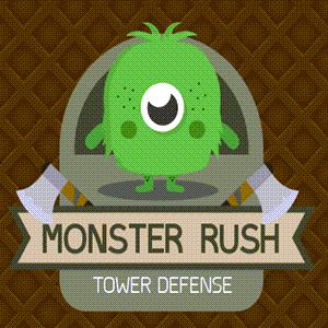 Monster Rush Tower Defense Game.