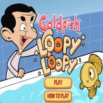 Mr. Bean Goldfish Loopy Loopy Game.