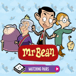 Mr. Bean Matching Pairs Game.