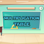Multiplication Table.