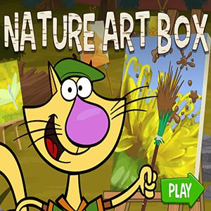 Nature Cat Nature Art Box.