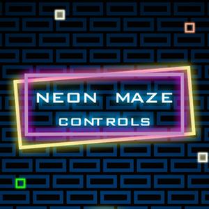 Neon Maze Controls.