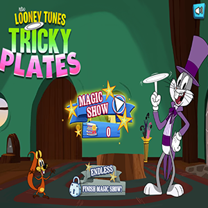New Looney Tunes Tricky Plates.