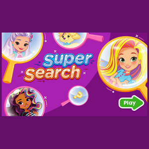 Nick Sunny Day Super Search Game.