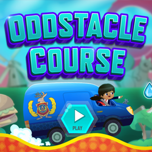 Odd Squad Oddstacle Course.