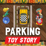 Parking Toy Story.