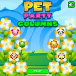 Pet Party Columns.