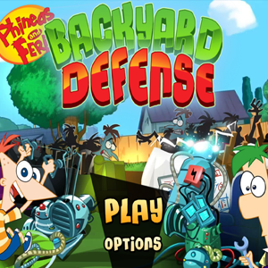 Phineas and Ferb Backyard Defense.