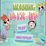 Powerpuff Girls Morning Mix Up Game.