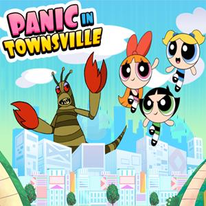 Powerpuff Girls Panic in Townsville.