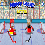 Puppet Hockey Battle.