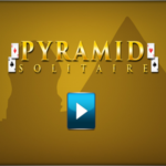 Pyramid Solitaire Game.
