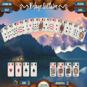 Refuge Solitaire Game.
