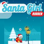 Santa Girl Runner.