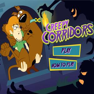 Scooby Doo Creepy Corridors Game.