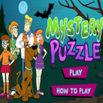 Scooby Doo Mystery Puzzle.