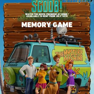 Scooby Doo Scoob Memory Game.