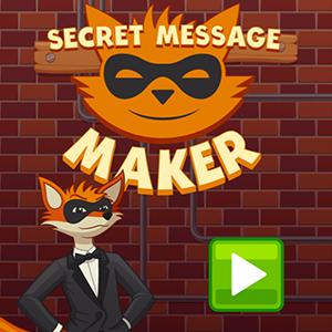 Secret Message Maker.
