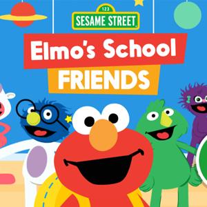 Sesame Street Elmos School Friends.