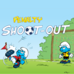 Smurfs Penalty Shootout Game.