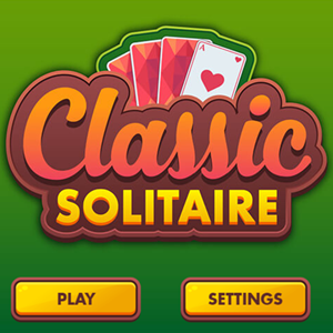 Classic Solitaire Game.