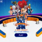 Space Jam Full Court Pinball Game.