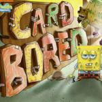 Spongebob Squarepants Card Bored.