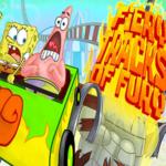 Spongebob Squarepants Fiery Tracks Of Fury.