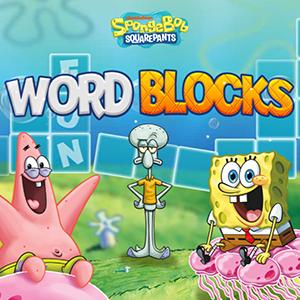 Spongebob Squarepants Word Blocks.