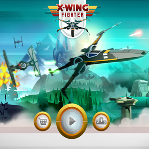 Star Wars X Wing Fighter Game.