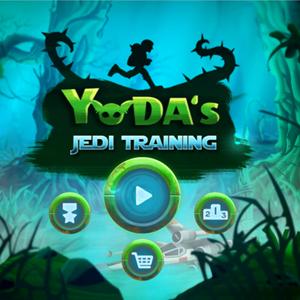 Star Wars Yoda's Jedi Training.