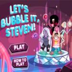 Steven Universe Let's Bubble It Steven Game.