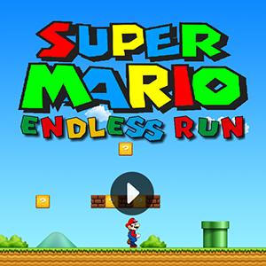 Super Mario Endless Run.