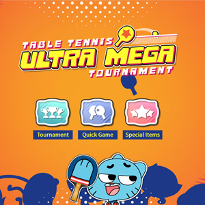 Table Tennis Ultra Mega Tournament Game.