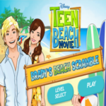 Disney's Teen Beach Movie Brady's Beach Scramble Game.