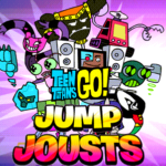Teen Titans Go Jump Jousts Game.