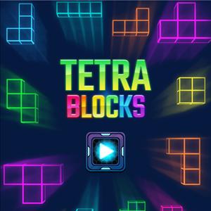 Tetra Blocks Game.