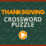 Thanksgiving Crossword Puzzle.