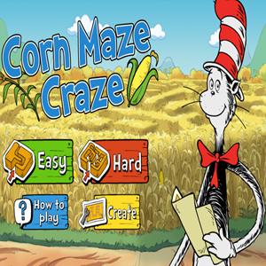 The Cat in the Hat Corn Maze Craze.