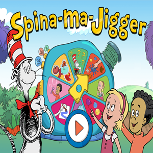The Cat in the Hat Spinna Ma Jigger Game.