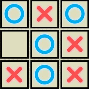Tic Tac Toe 4 Player Game.