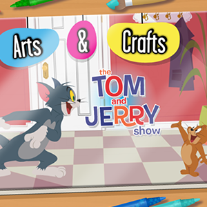 Tom and Jerry Arts and Crafts.