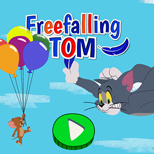 Tom and Jerry Freefalling Tom.