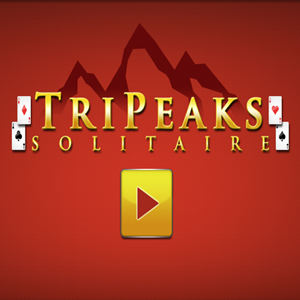 TriPeaks Solitaire Game.