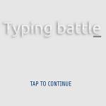 Typing Battle.
