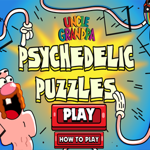 Uncle Grandpa Psychedelic Puzzles.