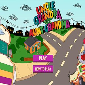 Uncle Grandpa vs Aunt Grandma.